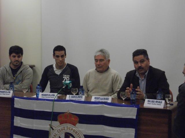 Chus, Diego, Dagoberto y Luciano