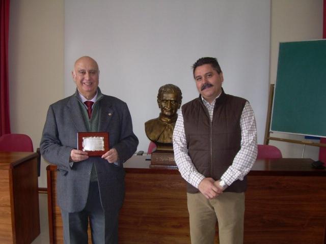 Los presidentes saliente y entrante Fernando Esclusa Otero y Jesús Luciano Varela Baldomir