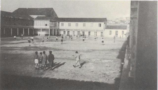 El colegio en sus inicios