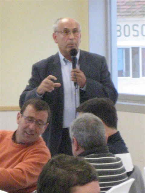 Joaquín Nieto, director del centro, en un momento de su intervención