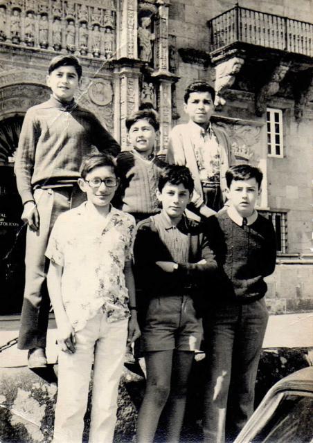 Victor Fuenteseca con Pedreira, Cañas y Lage, entre otros
