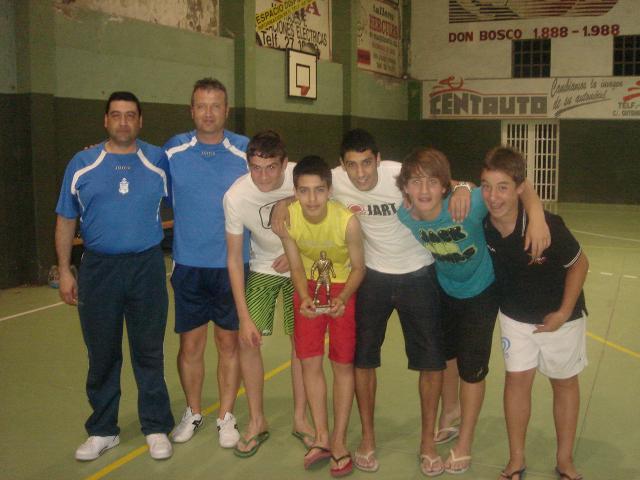 El Mera FS, campeón cadete.